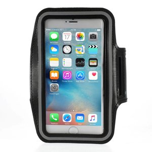 Sport Armband iPhone 6 en 6S Plus Zwart