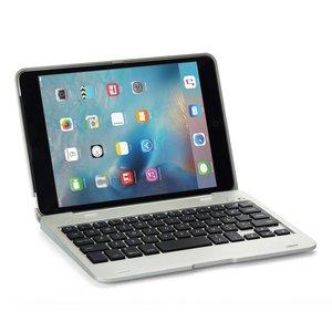 iPad Mini 1/2/3 Toetsenbord Keyboard Full Protection Zilver