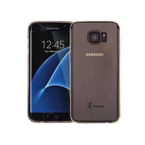 Samsung Galaxy S7 Edge Hoesje Siliconen Goud Trsp