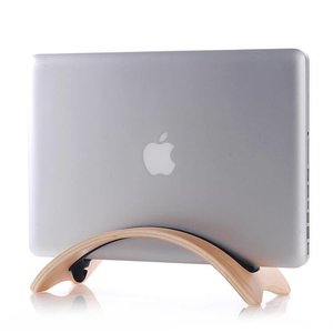 Apple Macbook Air/Pro Laptop Houder Licht Bamboe