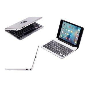 Toetsenbord Hoes iPad Mini 4 Zilver Executive