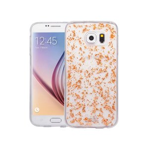 Samsung Galaxy S6 Glitter Hoesje Snipper Rose Goud