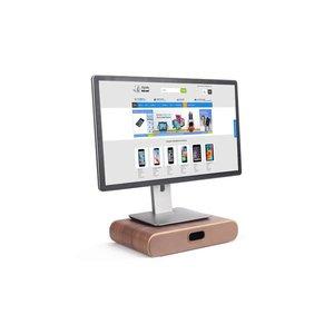 Beeldscherm Monitor Standaard Opberg Donker Hout