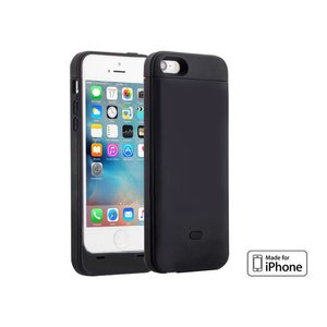 Accu Case iPhone SE/5S/5 Battery Case MFI 2200mAh