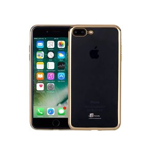 Ultradun iPhone 8/7 Plus Bumper Case Hoesje Goud