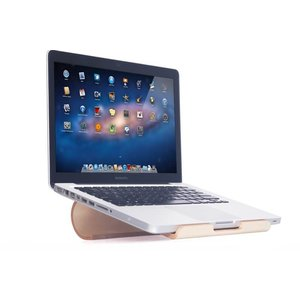 iPad MacBook Standaard Licht Hout