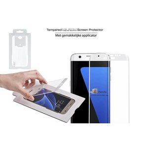 Samsung Galaxy S7 Screenprotector Glas Wit