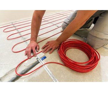 Elektrische vloerverwarming pakketten met losse kabel