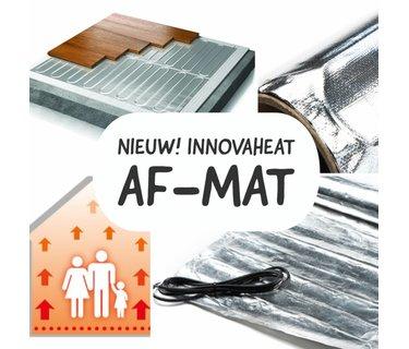 Elektrische vloerverwarming op mat voor onder zwevende vloeren