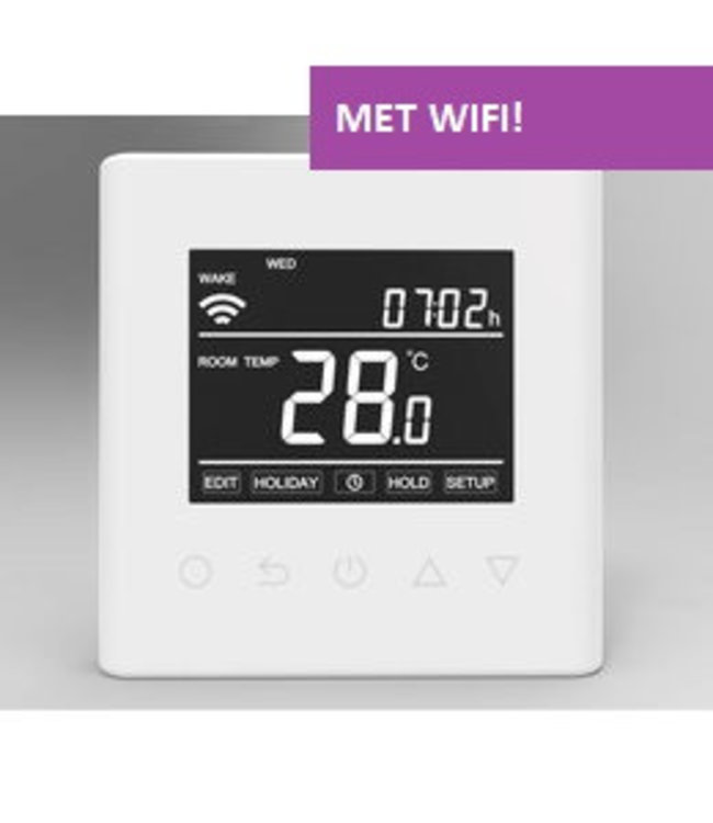 "VH Control ""Calypso-W"" Digitale Wifi inbouwthermostaat"