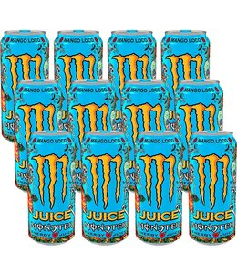 Monster Juice Mango Loco 12x500ml