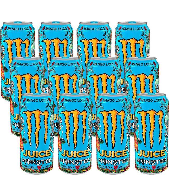 Monster Monster Juice Mango Loco Tray