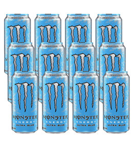 Monster Ultra Blue 12x500ml