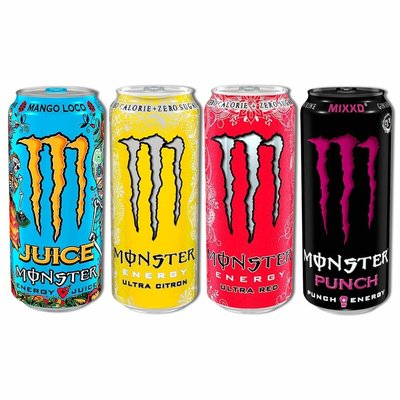 Monster Energy - alle smaken