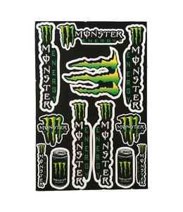 Monster Aufkleber groß #6