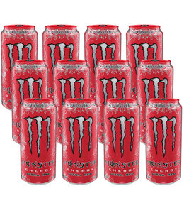 Monster Ultra Red 12x500ml