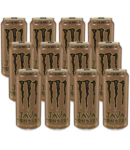 Monster Java Loca Moca 12x473ml