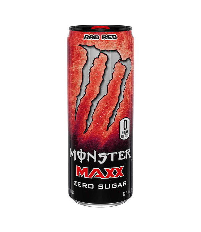 Monster Energy Maxx Rad Red