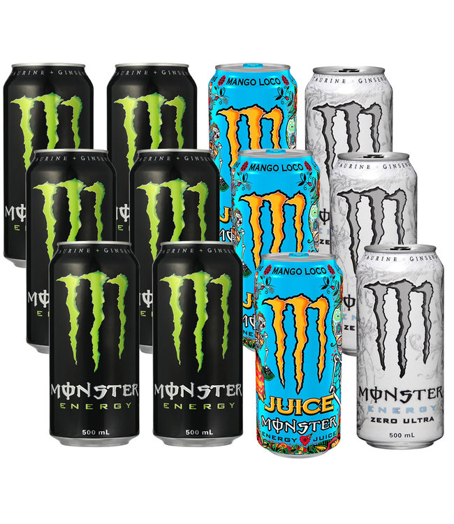 Monster Mix Tray 12x500ml