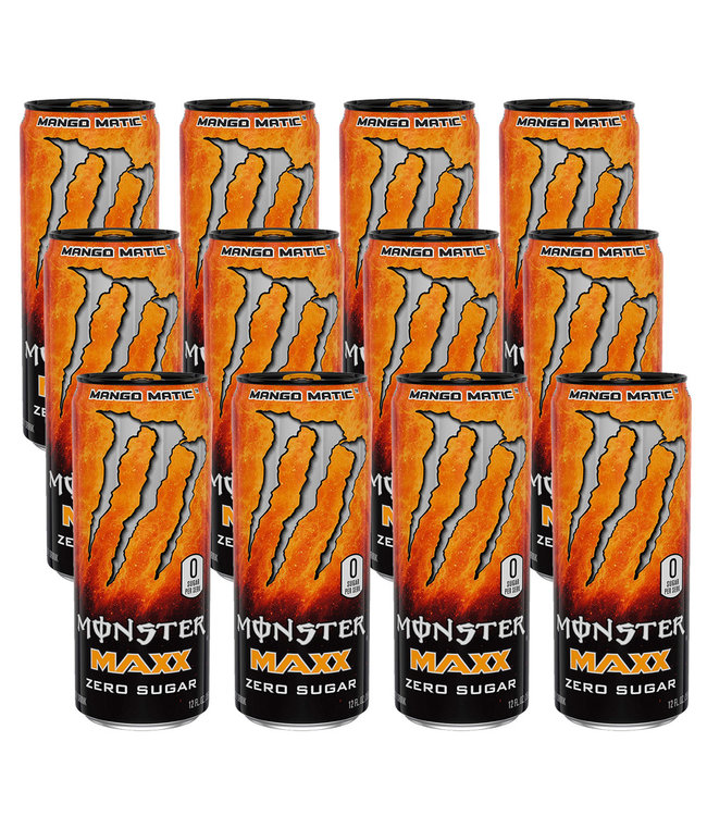 Monster Energy Maxx Mango Matic Tray