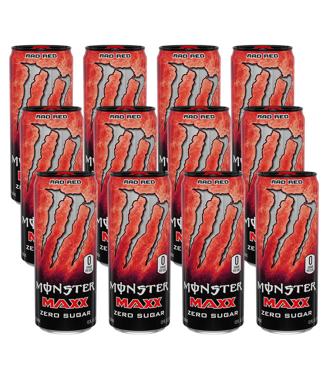 Monster Energy Maxx Rad Red Tray