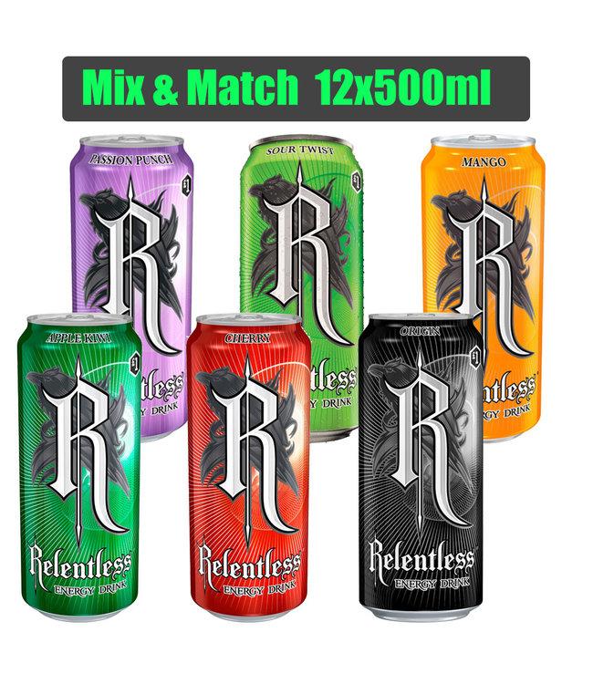 Relentless Mix-Pack 12x500ml