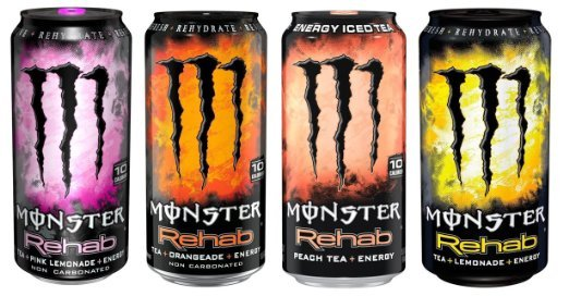 Monster Rehab - Nieuwe smaken nu verkrijgbaar!