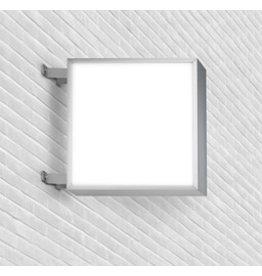 Light box quadratic double sided
