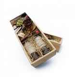 Caja de vino con impresión propia.