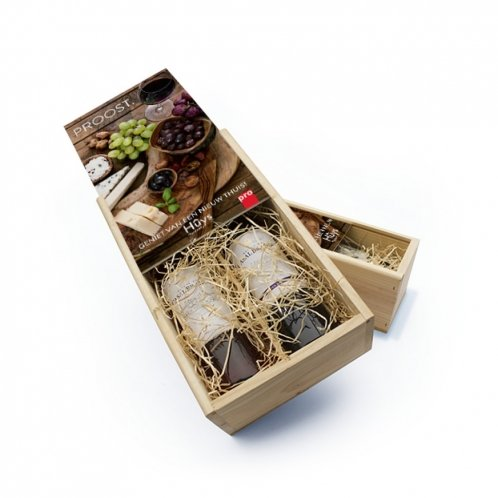 Wine box with own printing