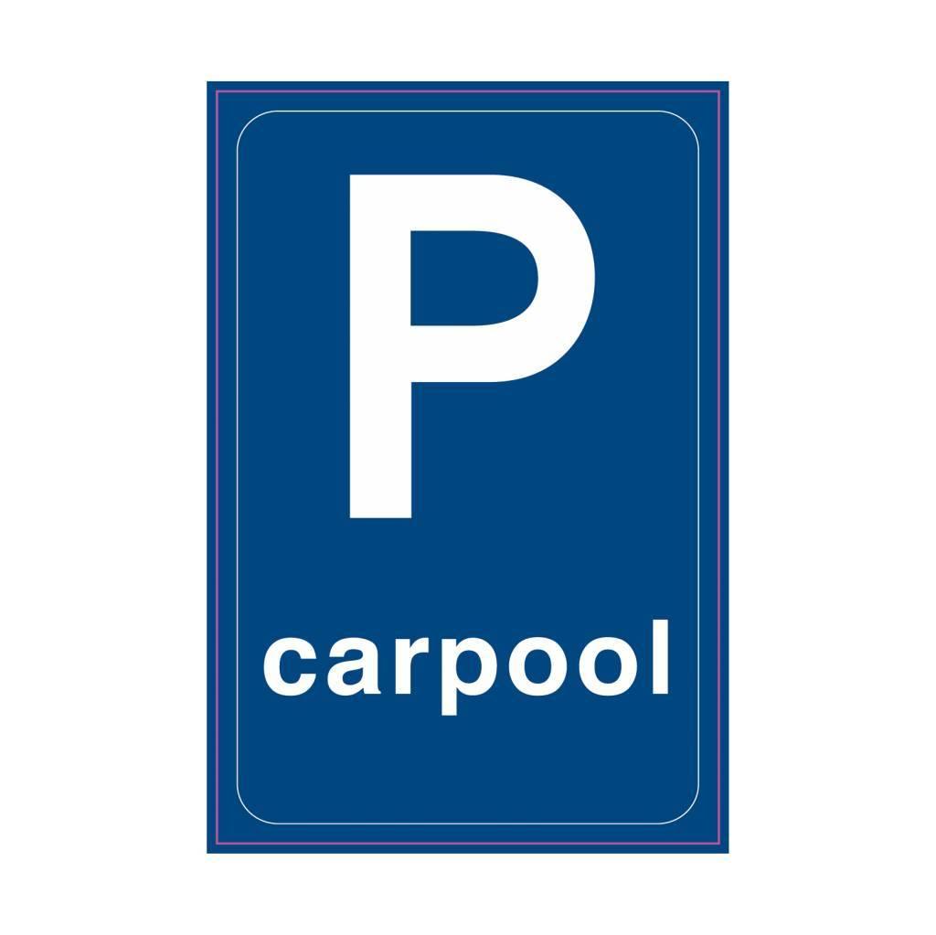 Parkeergelegenheid ten behoeve van carpoolers