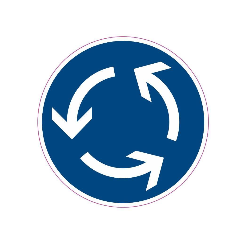 Rotonde Sticker