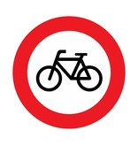 Durchfahrtsverbot für Fahrräder