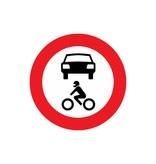 Gesloten voor alle motorvoertuigen