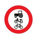 Durchfahrtsverbot Traktoren / Mofa / Fahrrad