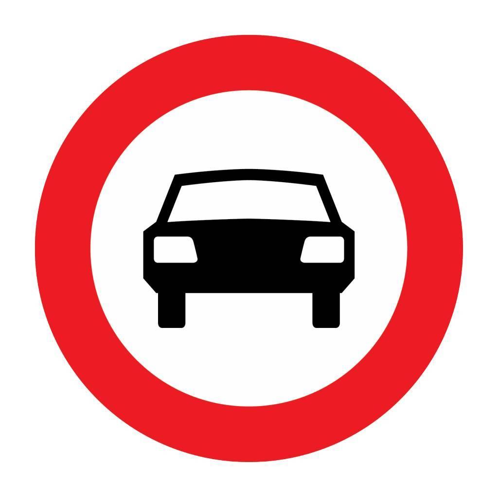 Durchfahrtsverbot für Kraftwagen