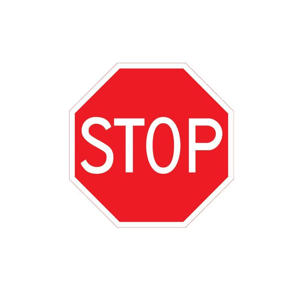 Stop: Verleen voorrang