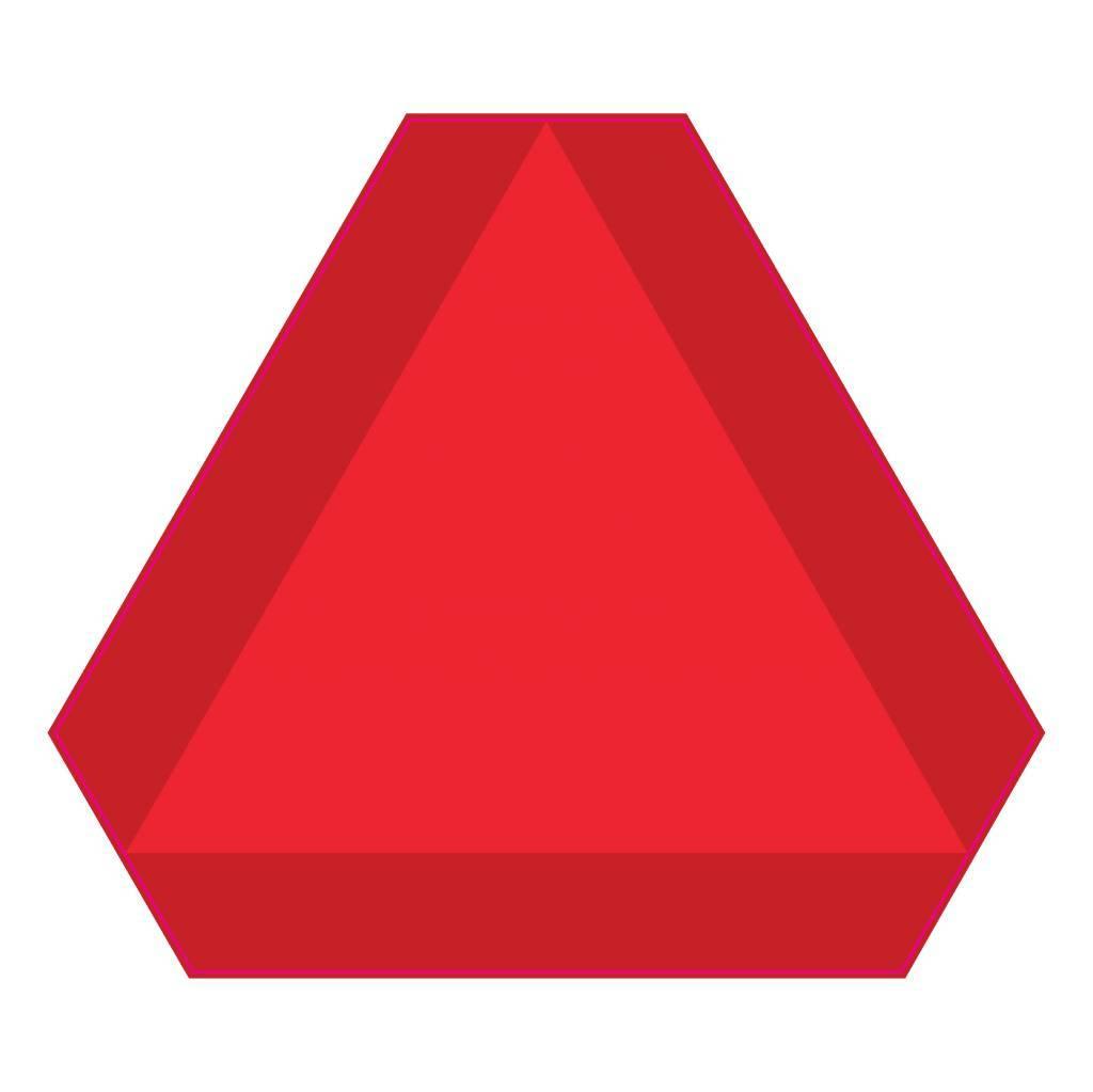 Langzaam verkeer Sticker