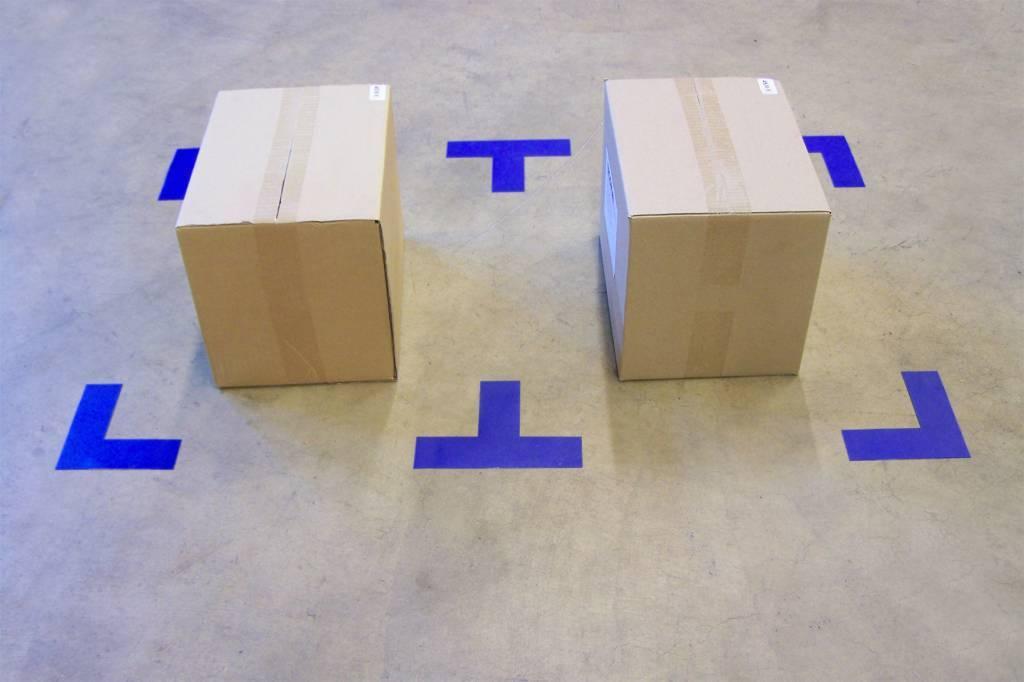 Marcaje al suelo esquina T / + Fino
