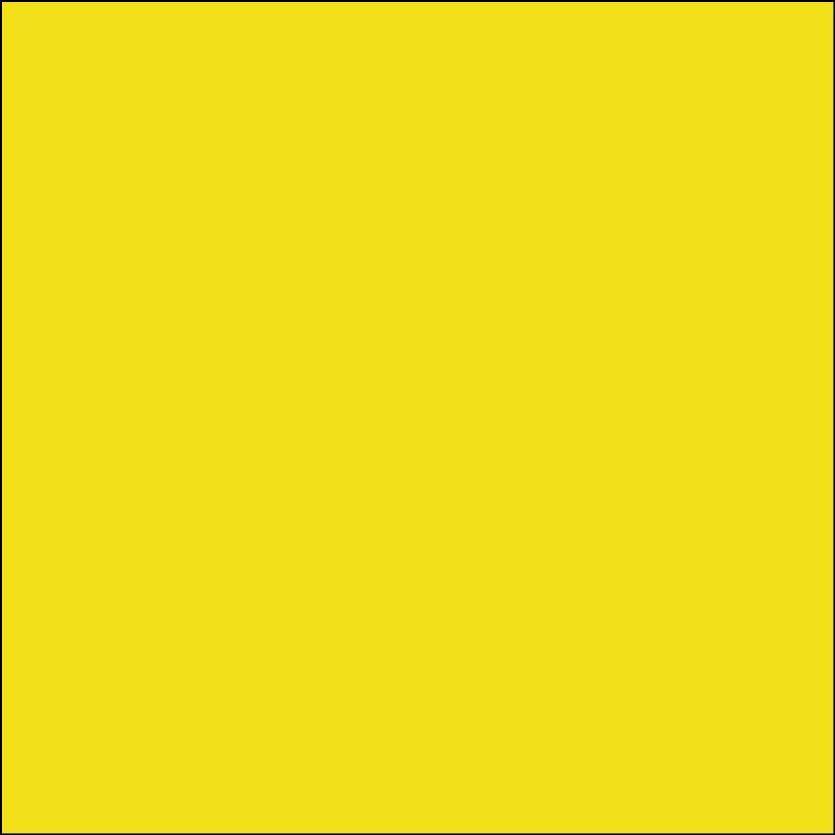 Oracal 631: zwavel geel Mat RAL1016