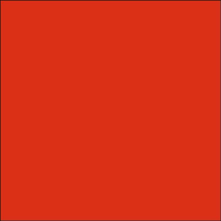 Oracal 631: rojo naranja Estera