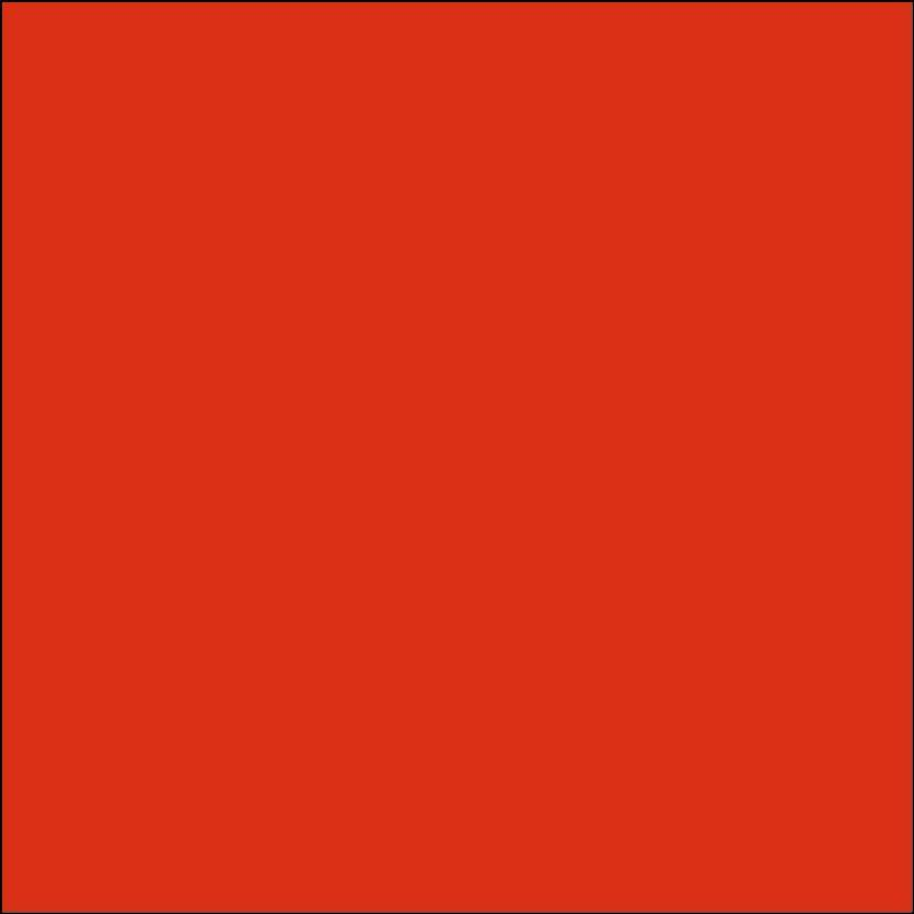 Oracal 651: Oranje rood