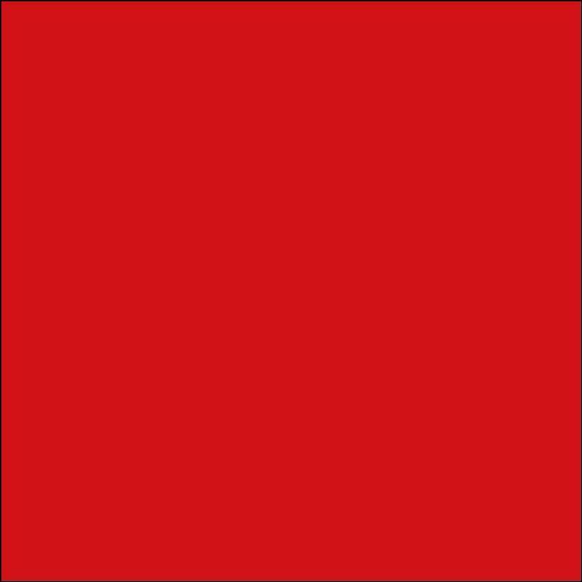 Oracal 651: Licht Rood RAL 3020