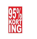 Autocollant rectangulaire 95% korting