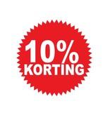Circular 10% sale Sticker