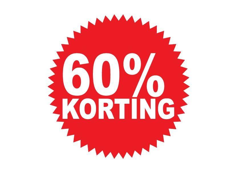 Circular 60% sale Sticker