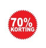 Circular 70% sale Sticker