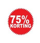 Circular 75% sale Sticker