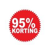 Pegatina redonda 95% descuento