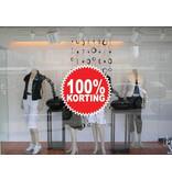 Oracal 3164 G wit Circular 100% sale Sticker